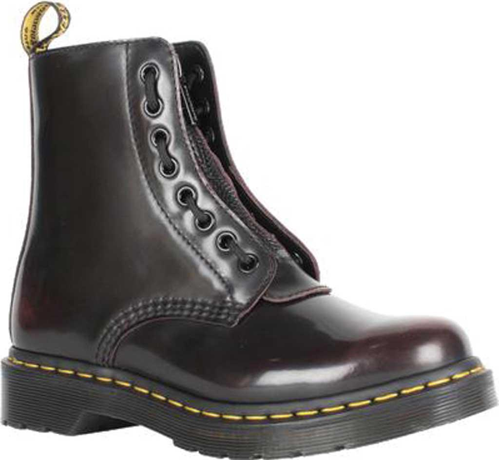 Dr.Martens Pascal II 8 Eyelet Oxblood Womens Vintage Smooth