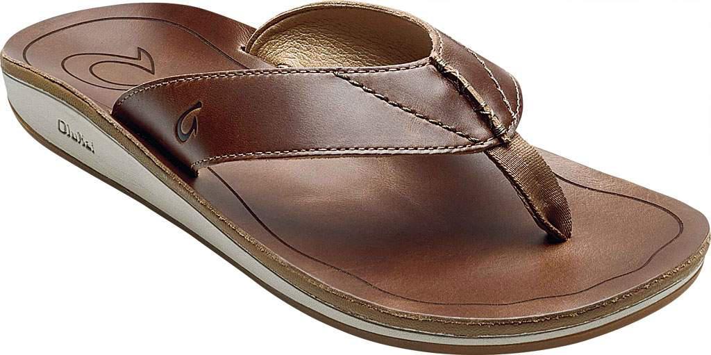 66649164af98 Lyst - Olukai Nohona  ili Thong Sandal in Brown for Men