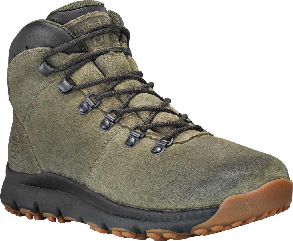 31d476e364a Lyst - Timberland World Mid Hiking Boot in Green for Men