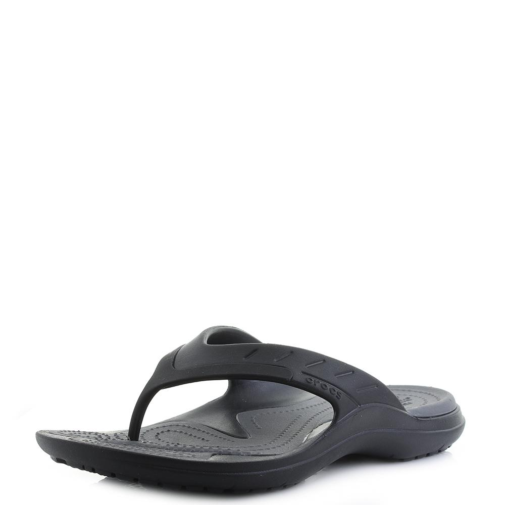 3b6144066 Crocs™ Modi Sport Flip Flop in Gray - Lyst