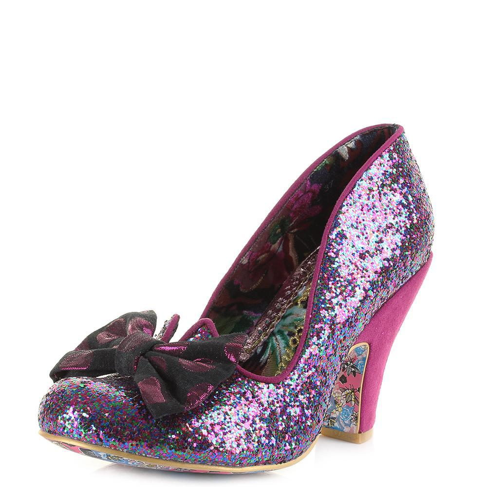 7a985f05d13 Irregular Choice Nick Of Time Shoes in Black - Lyst
