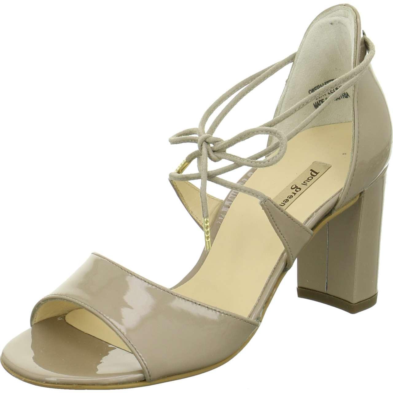 53c16fb5ccf Paul Green - Wo Strap Sandals Grey Taupe Softlack Metallic - Lyst. View  fullscreen