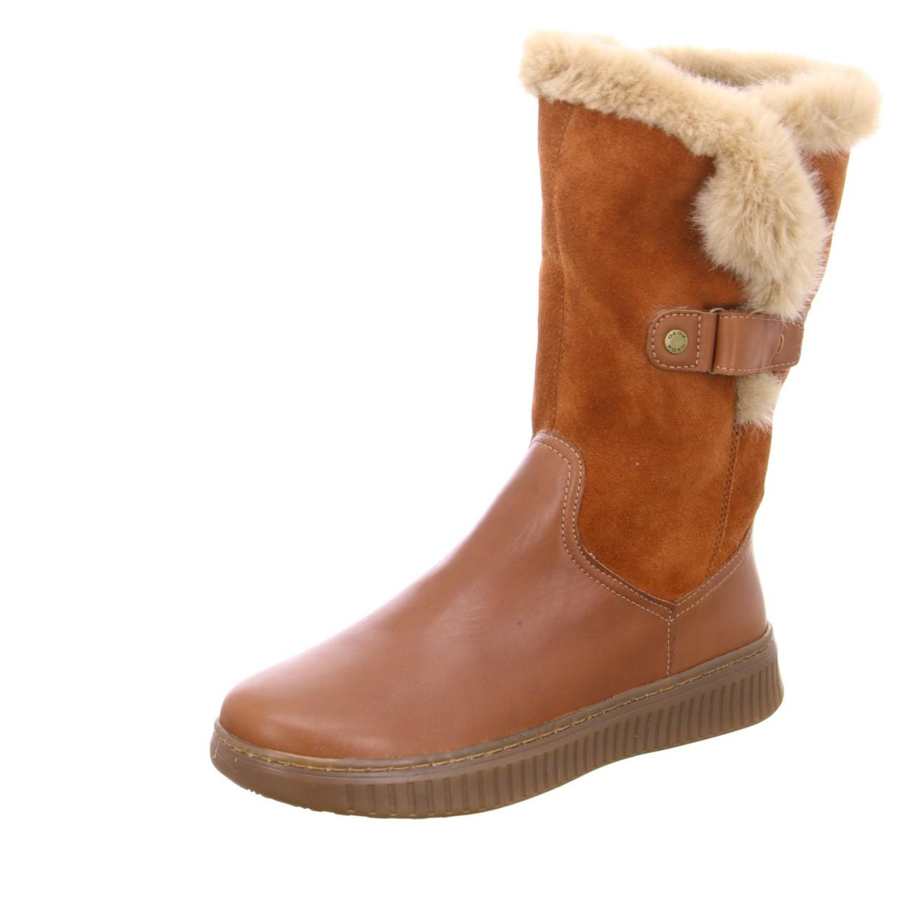 Geox Wo Winter Boots Brown in Brown - Lyst 2a6ee2ce24a