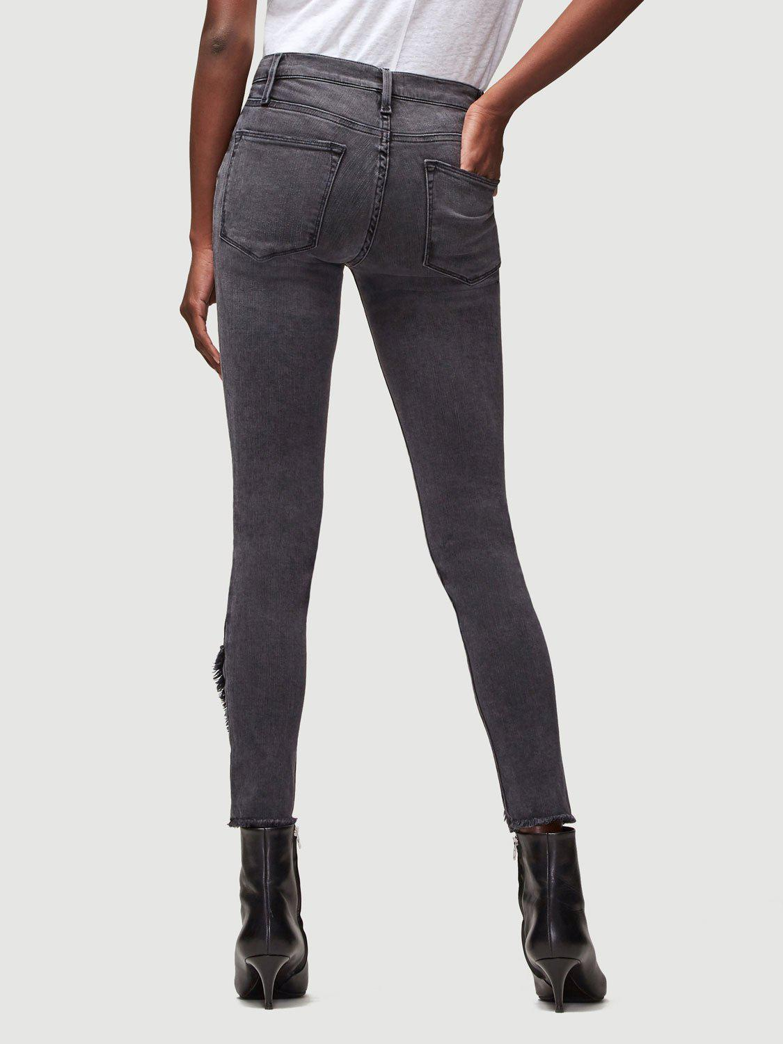 e0be6c61c3d FRAME - Multicolor Le High Skinny Quinby - Lyst. View fullscreen