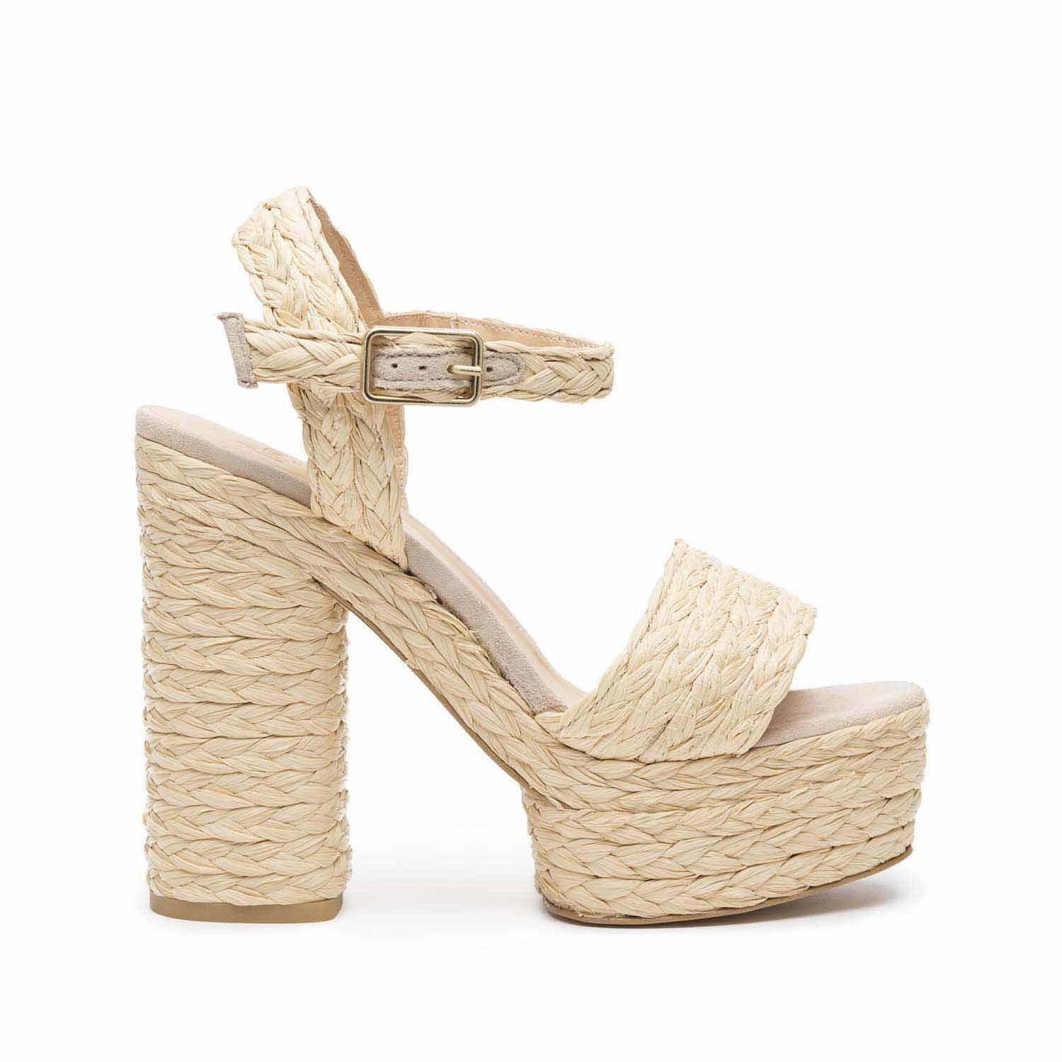 8a7a81a1422 Lyst - Castaner Abelia Sandal Natural in Natural