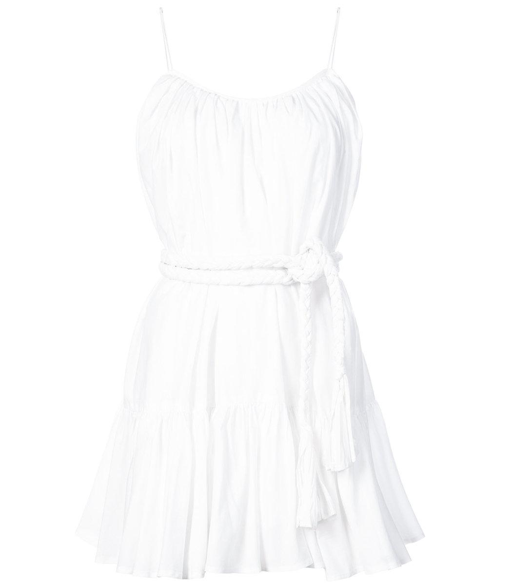 Nala Ruffled Cotton Tank - White Rhode Resort Factory Outlet Discount Aaa From China Cheap Online rMCC8I2kV