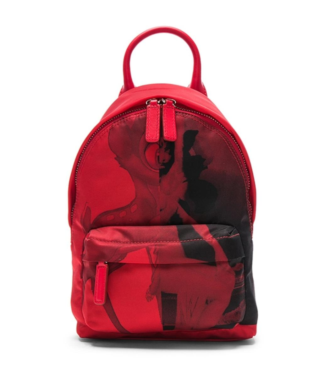 ad4568050c Lyst - Givenchy Red Nano Backpack in Red