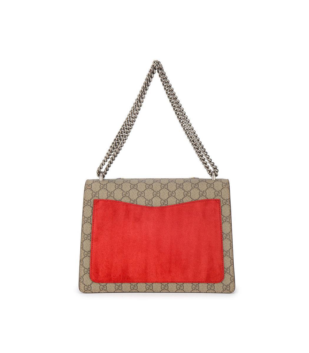 98f3f0cbe Gucci Multicolor Moth Embroidered Dionysus Shoulder Bag - Lyst