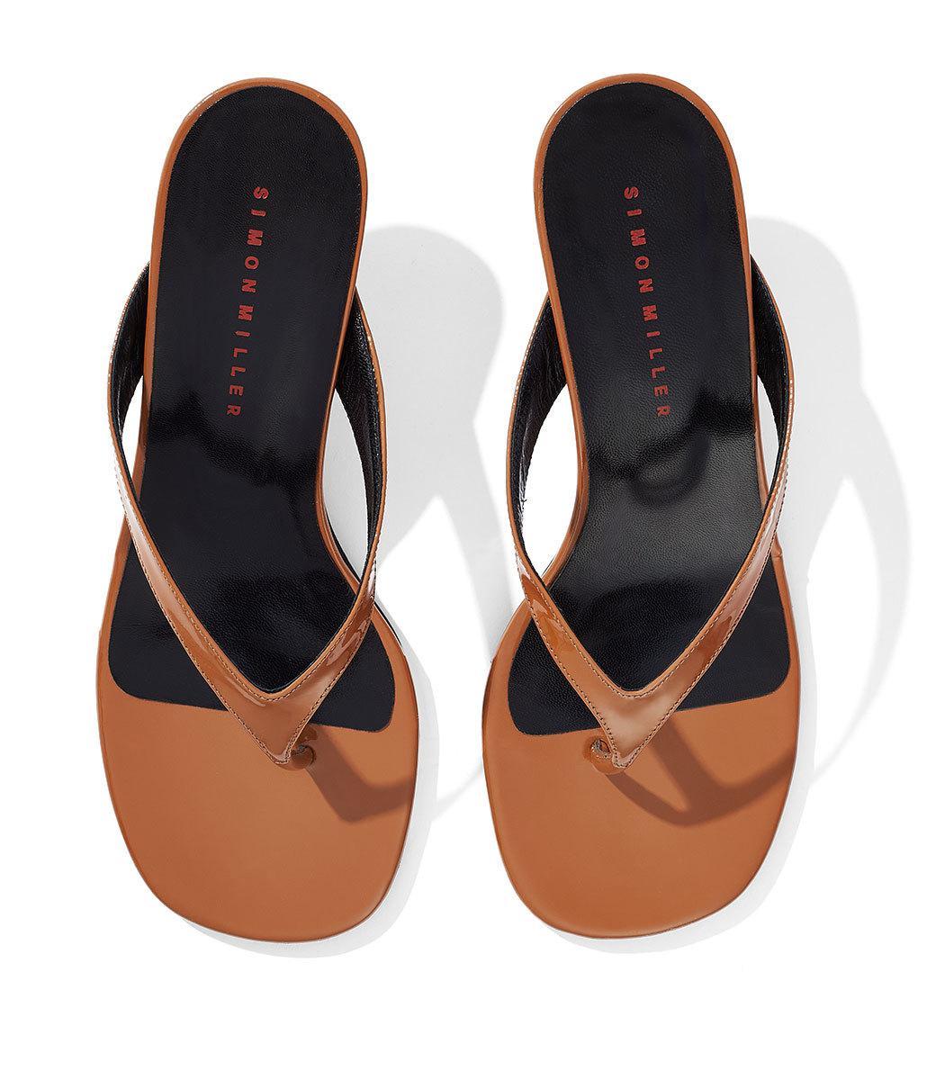 d6c2055d8 Lyst - Simon Miller Beep Thong Sandals