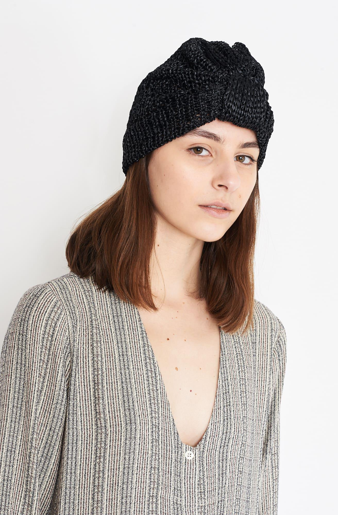 b628cd4e2ea Lyst - Reinhard Plank Turbante Hat in Black