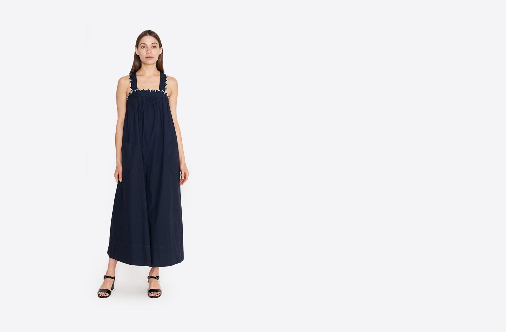24ca46e4fbdd Lyst - Ulla Johnson Rafaella Jumpsuit in Blue