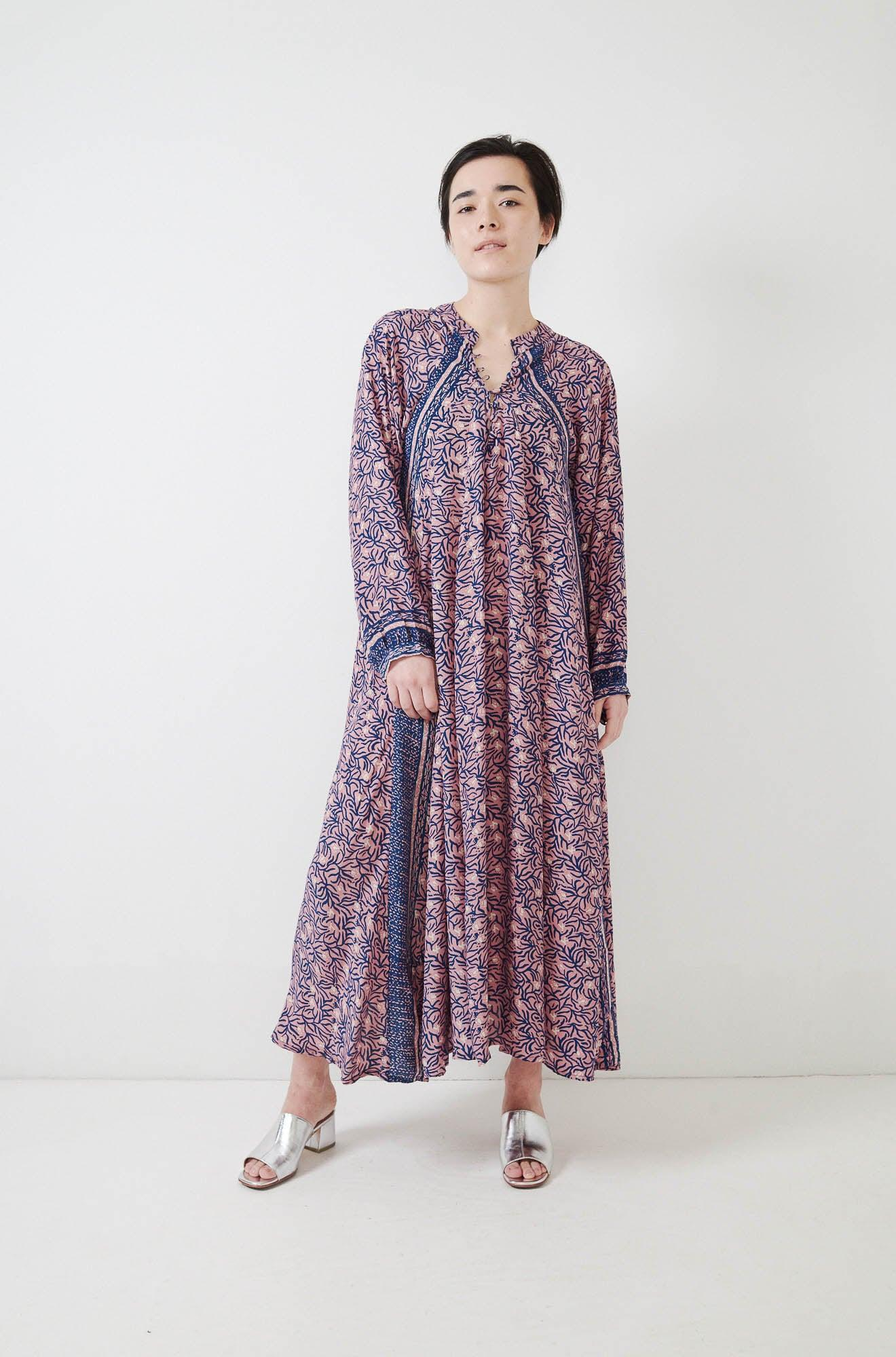 726e39ba82d Lyst - Natalie Martin Fiore Maxi Dress in Purple
