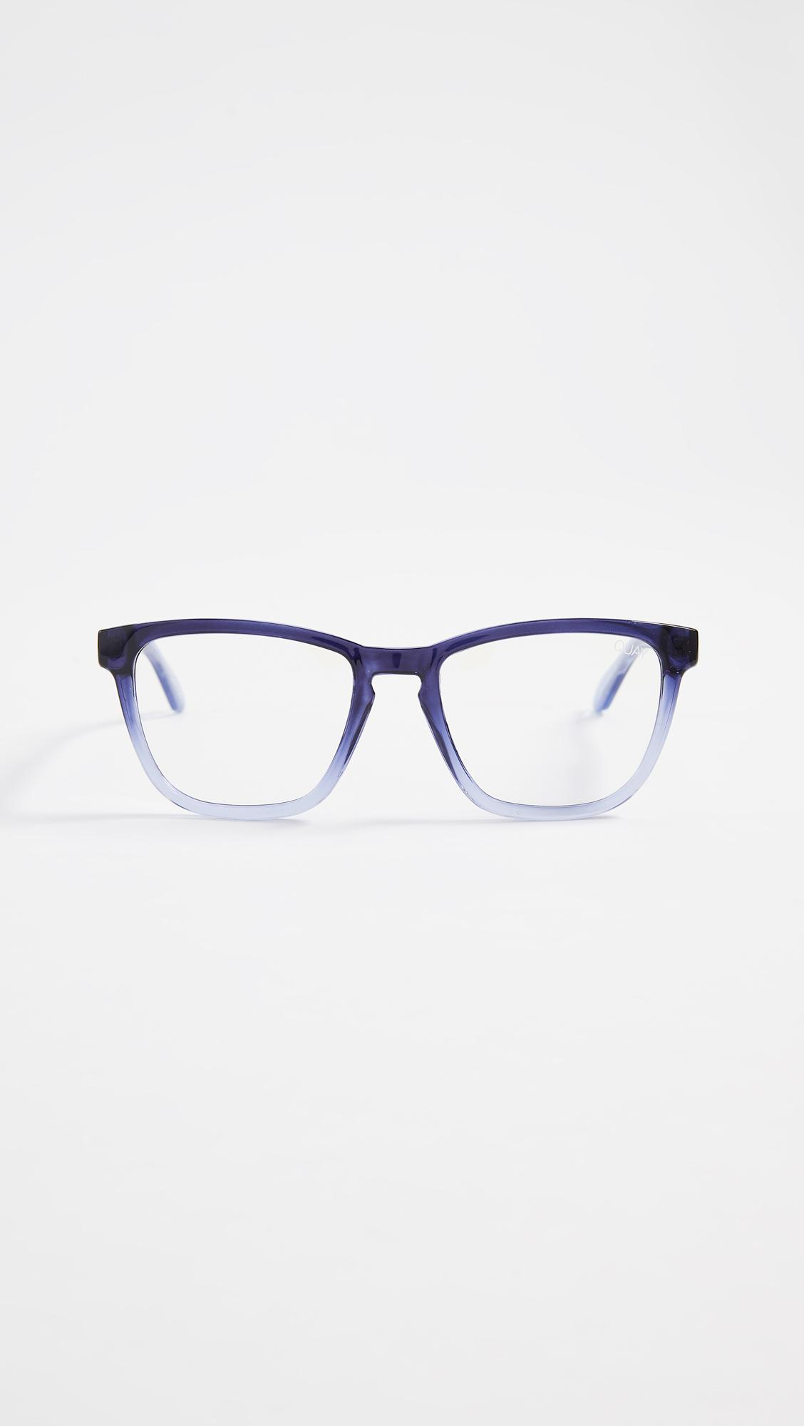 8044b1a115 Quay Hardwire Glasses in Blue - Lyst