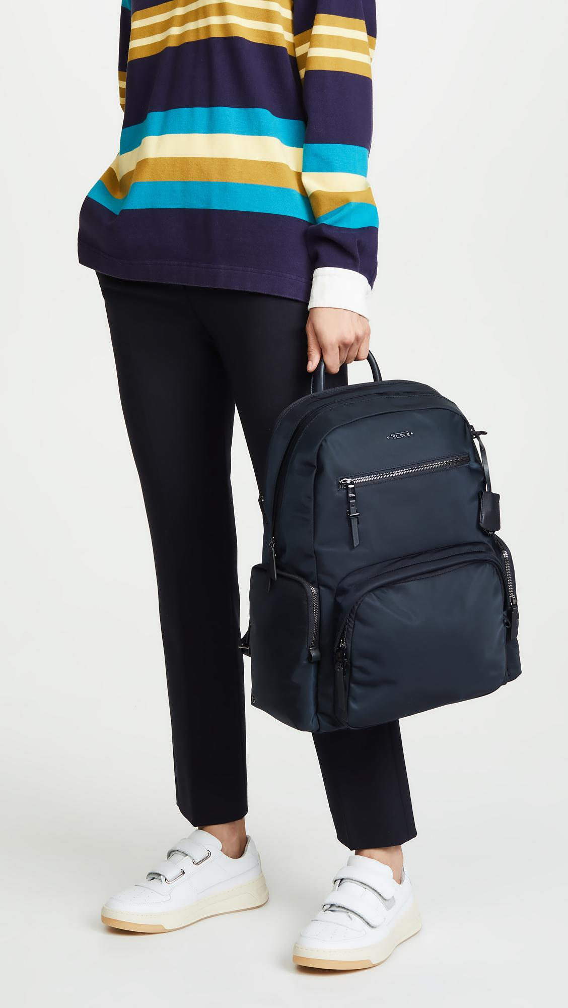 de0e88ac5 Tumi Voyageur Carson Backpack in Blue - Lyst