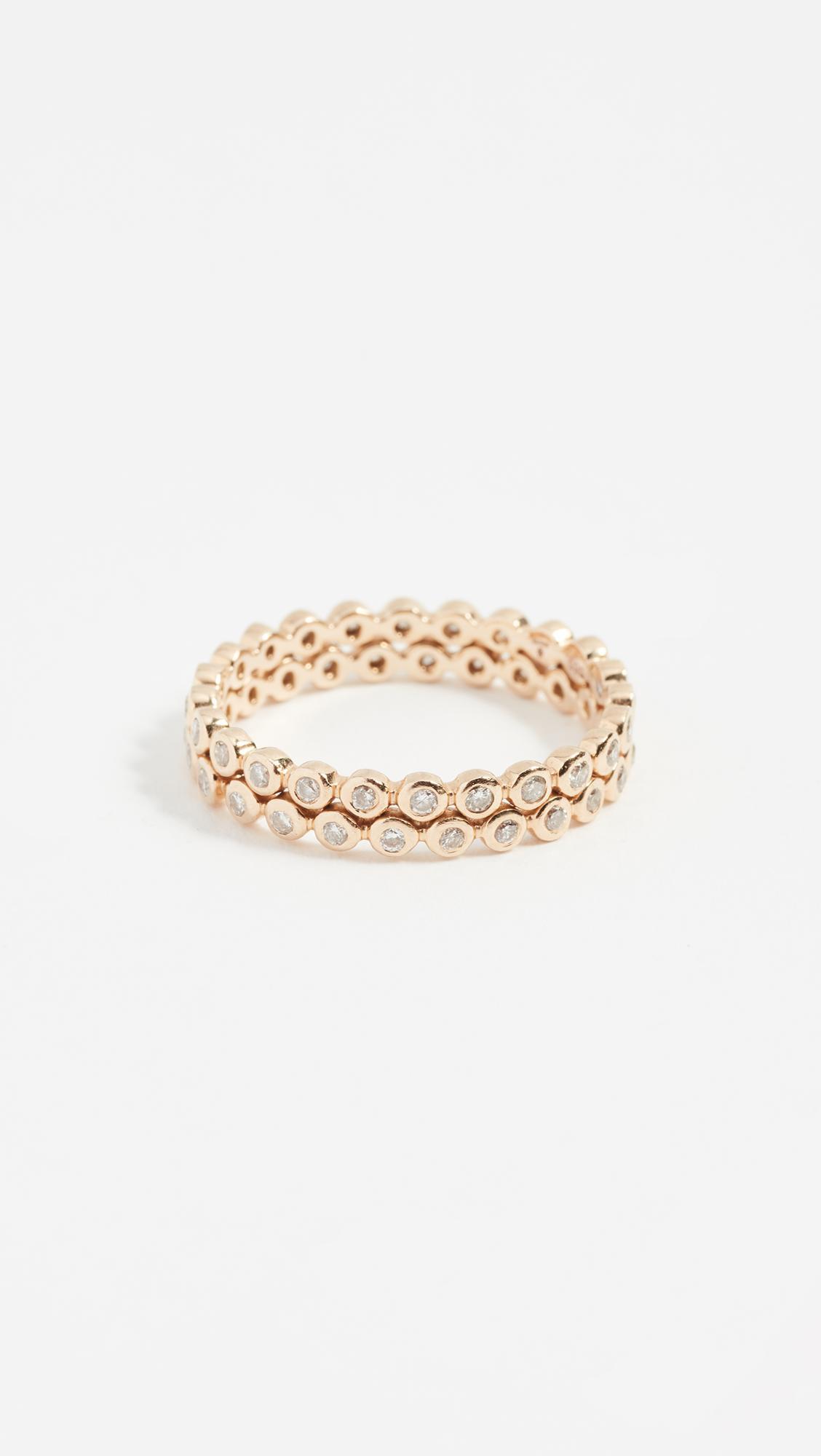 Shay baguette diamond band bracelet - Metallic FGBfaIDH