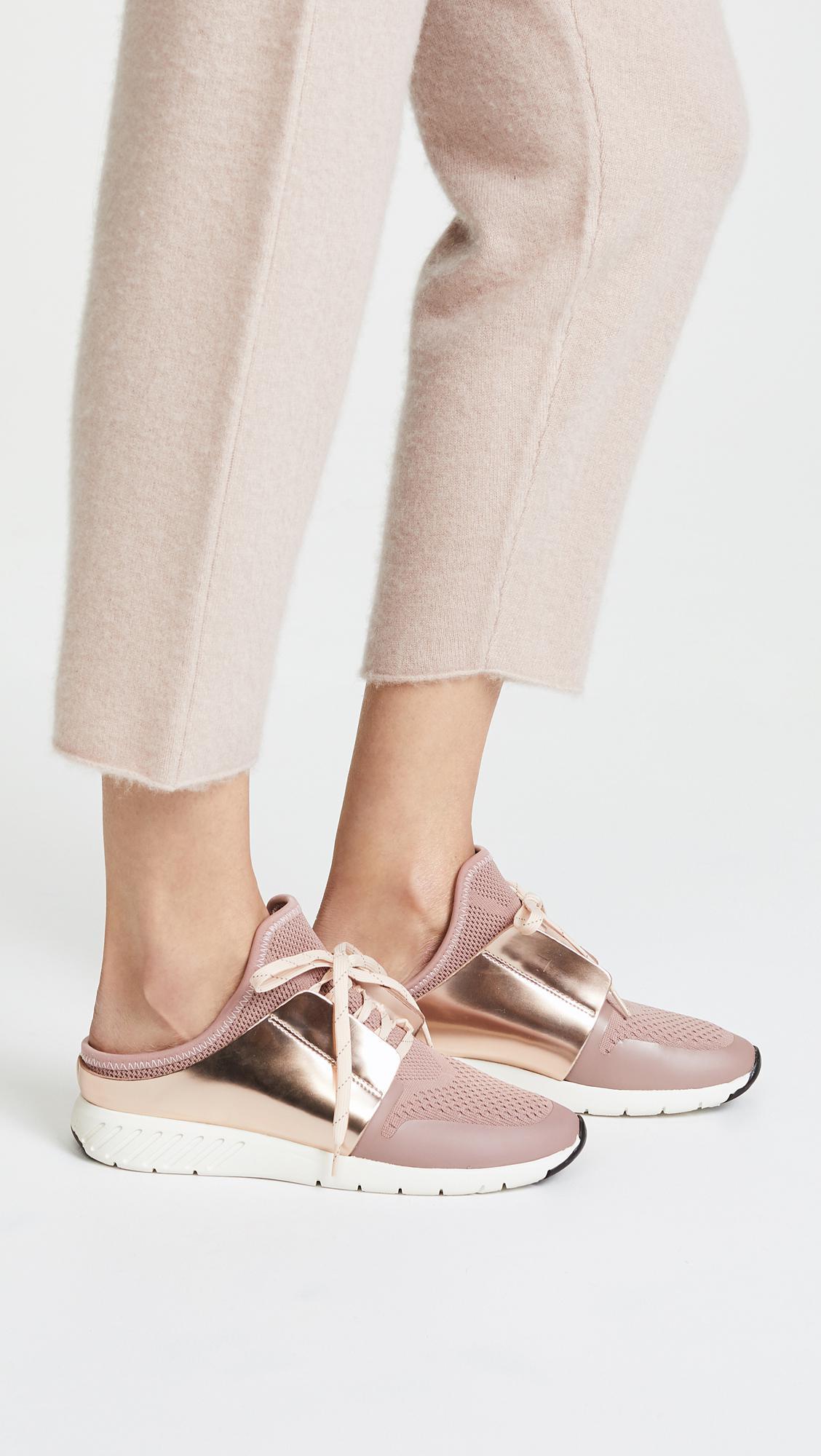 8afac4becb4 Lyst - Dolce Vita Braun Mule Sneakers in Pink