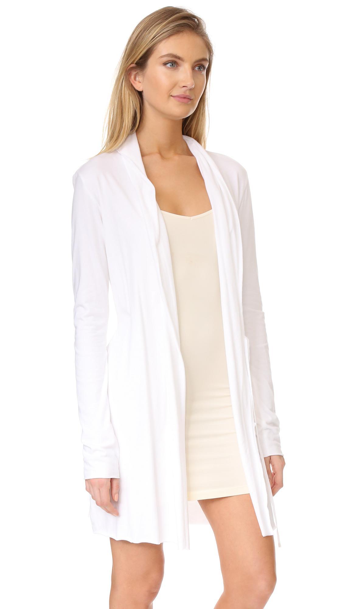 a6aebaf043b Skin Wrap Robes in White - Save 2.232142857142861% - Lyst
