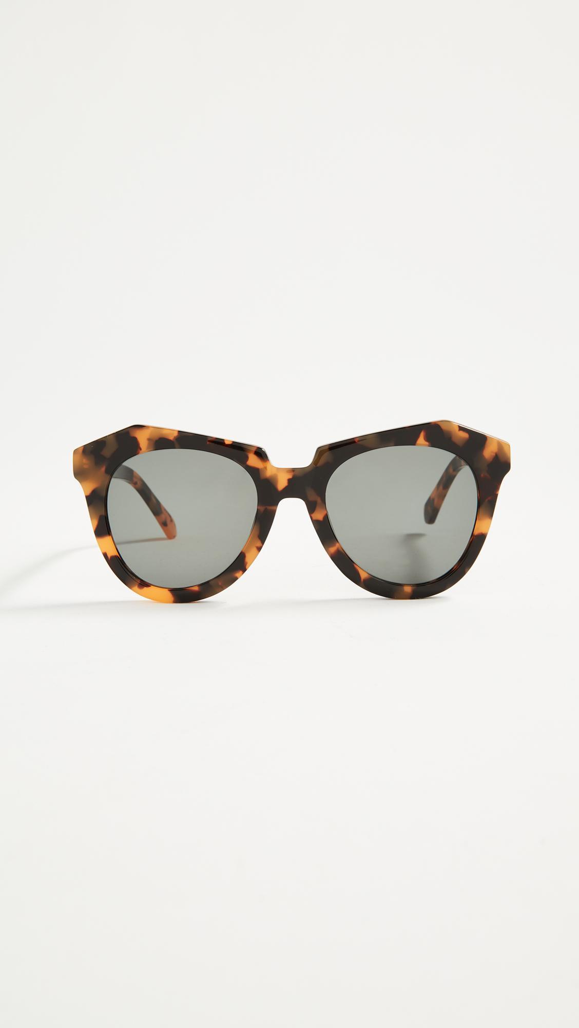 547fa6696ca Karen Walker The Number One Sunglasses - Lyst