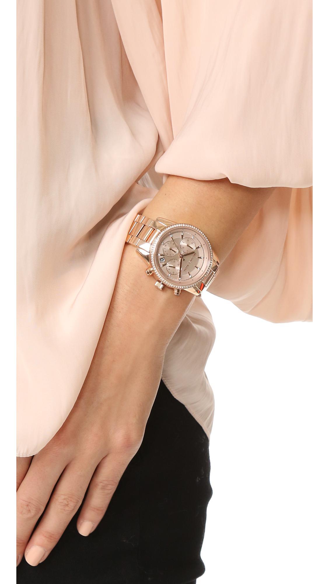 57f955e56d9f Lyst - Michael Kors Ritz Watch