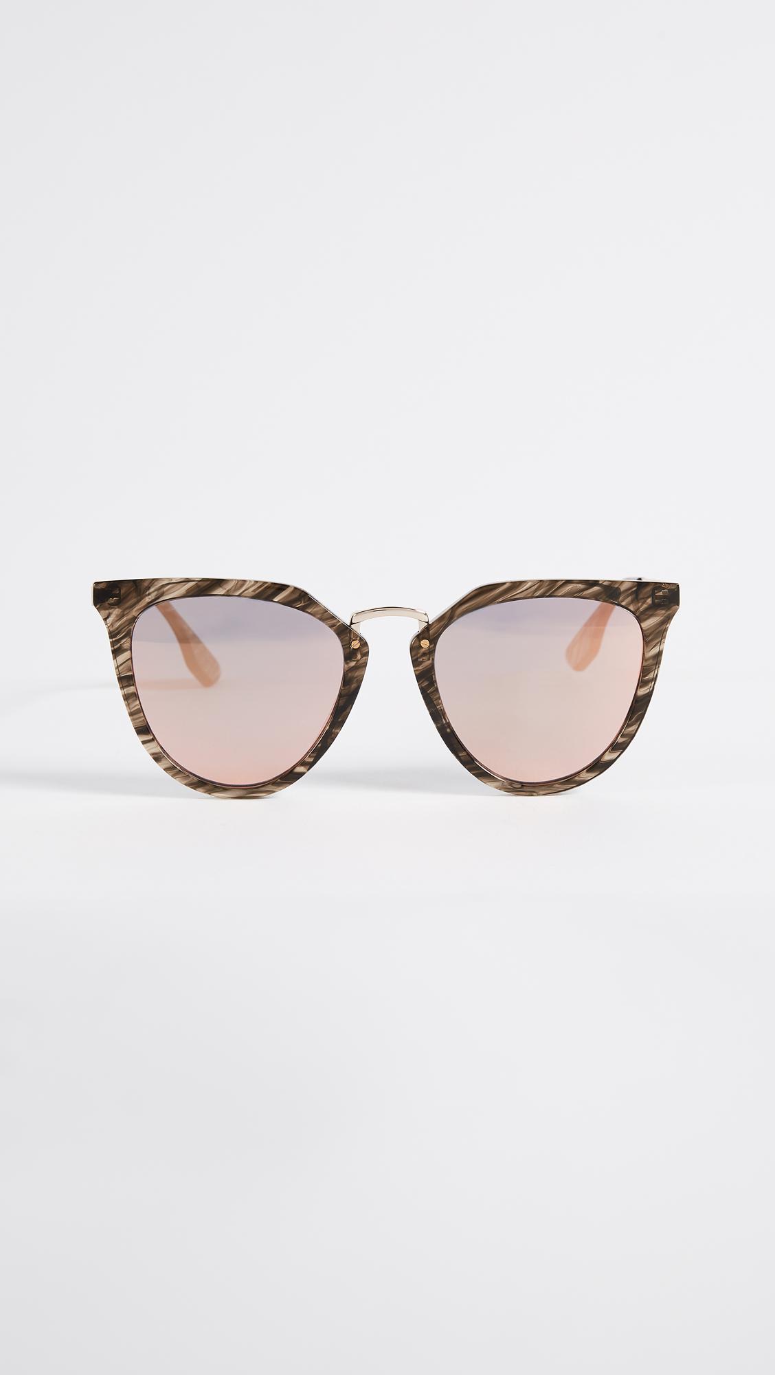 McQ Discord Edgy Cat Eye Sunglasses - Lyst
