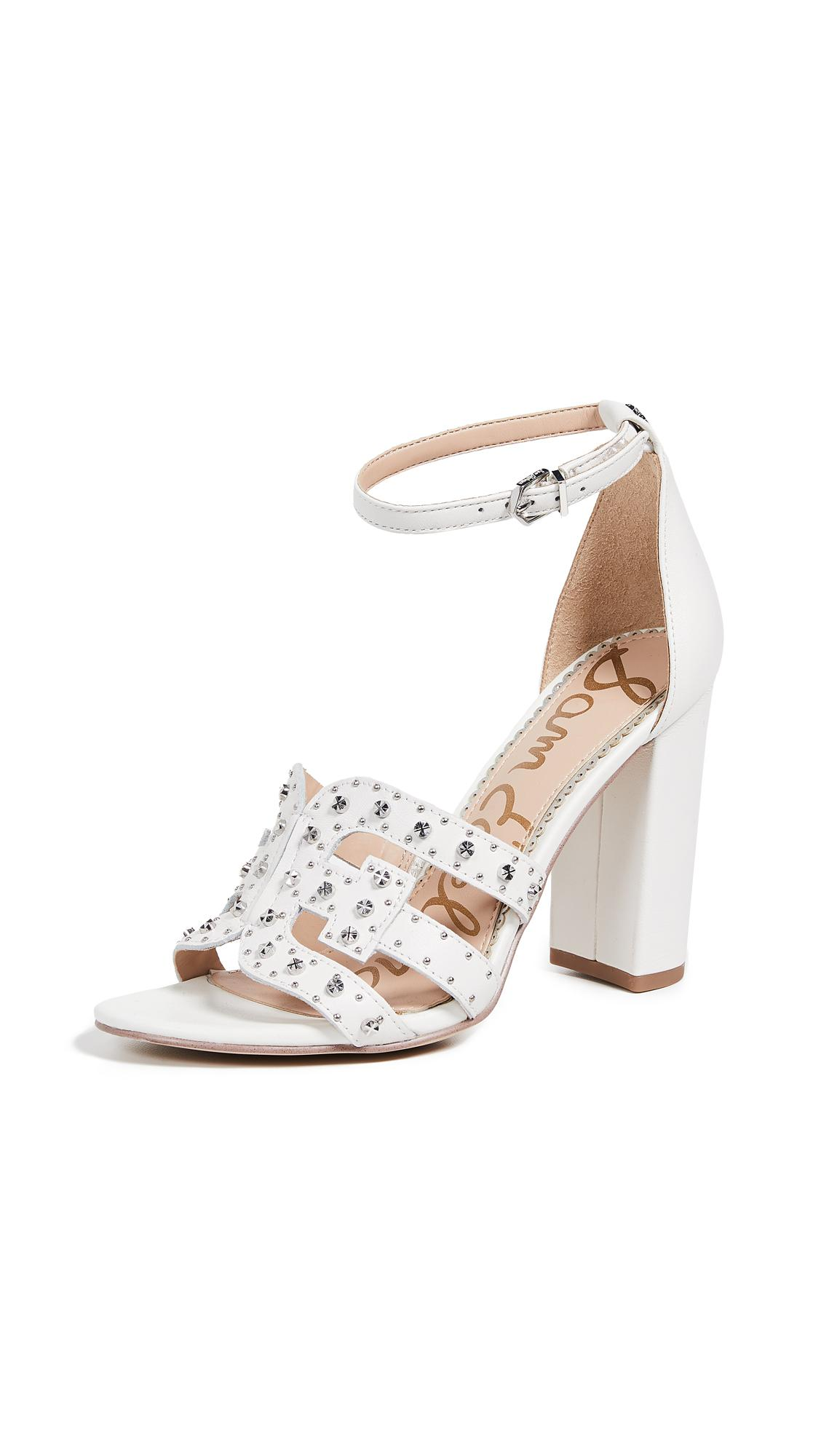 5d43542995e Lyst - Sam Edelman Yasha Sandals in White - Save 61%