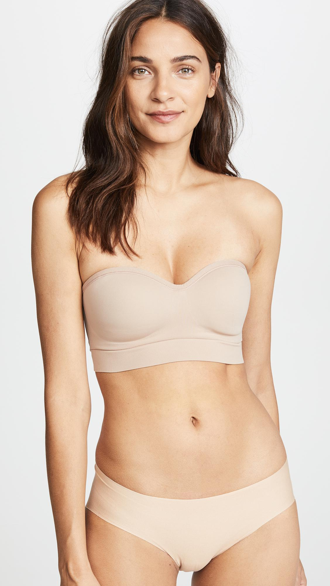4ba49c6d85 Lyst - Yummie Peyton Strapless Convertible Bra in Natural