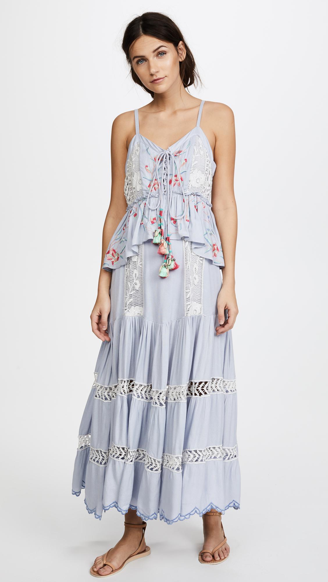 5b1cc840fd5 Hemant   Nandita Lodhi Dress in Blue - Lyst