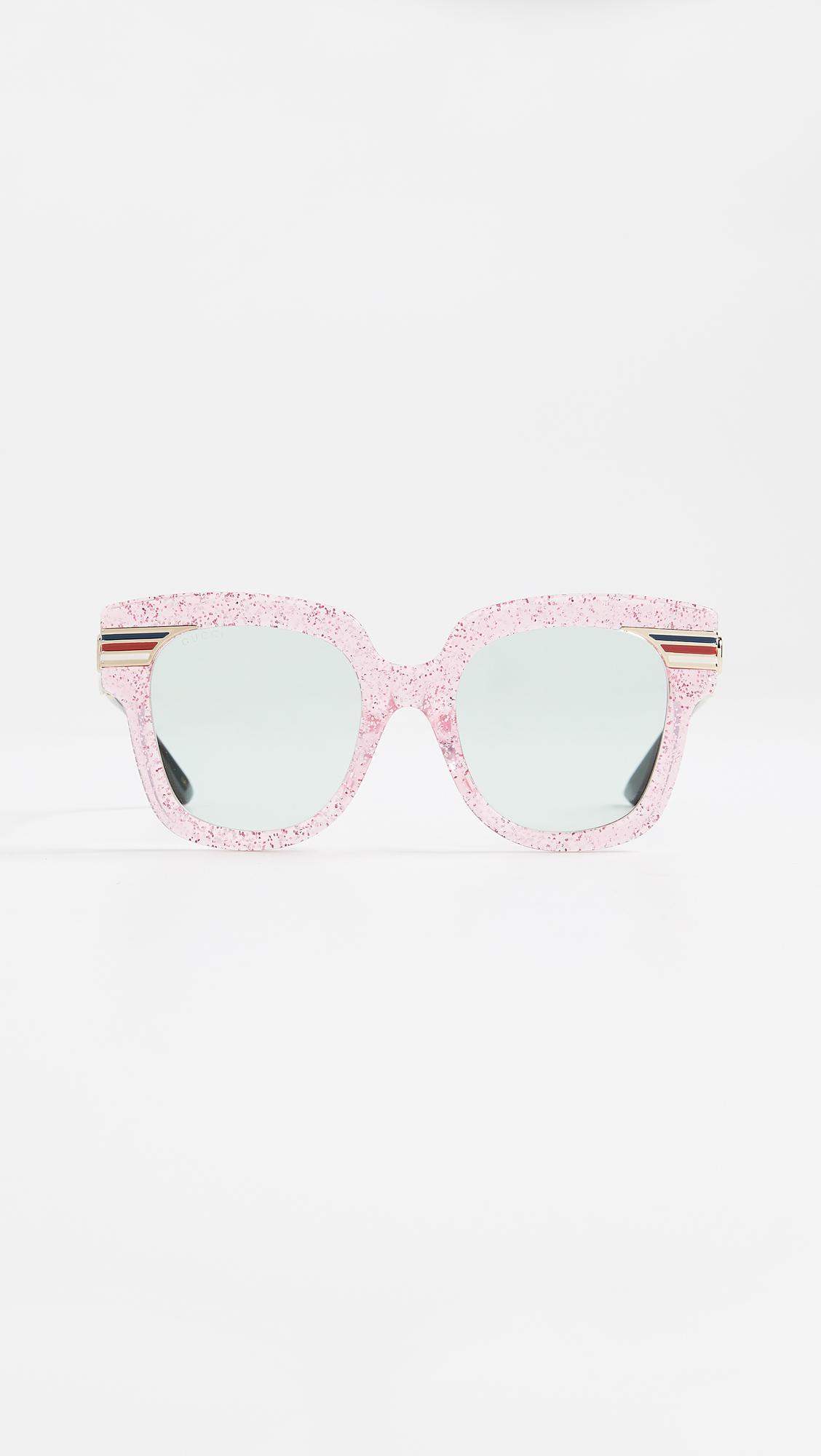 cd739cd75a7 Gucci. Women s Vintage Web Oversized Sunglasses