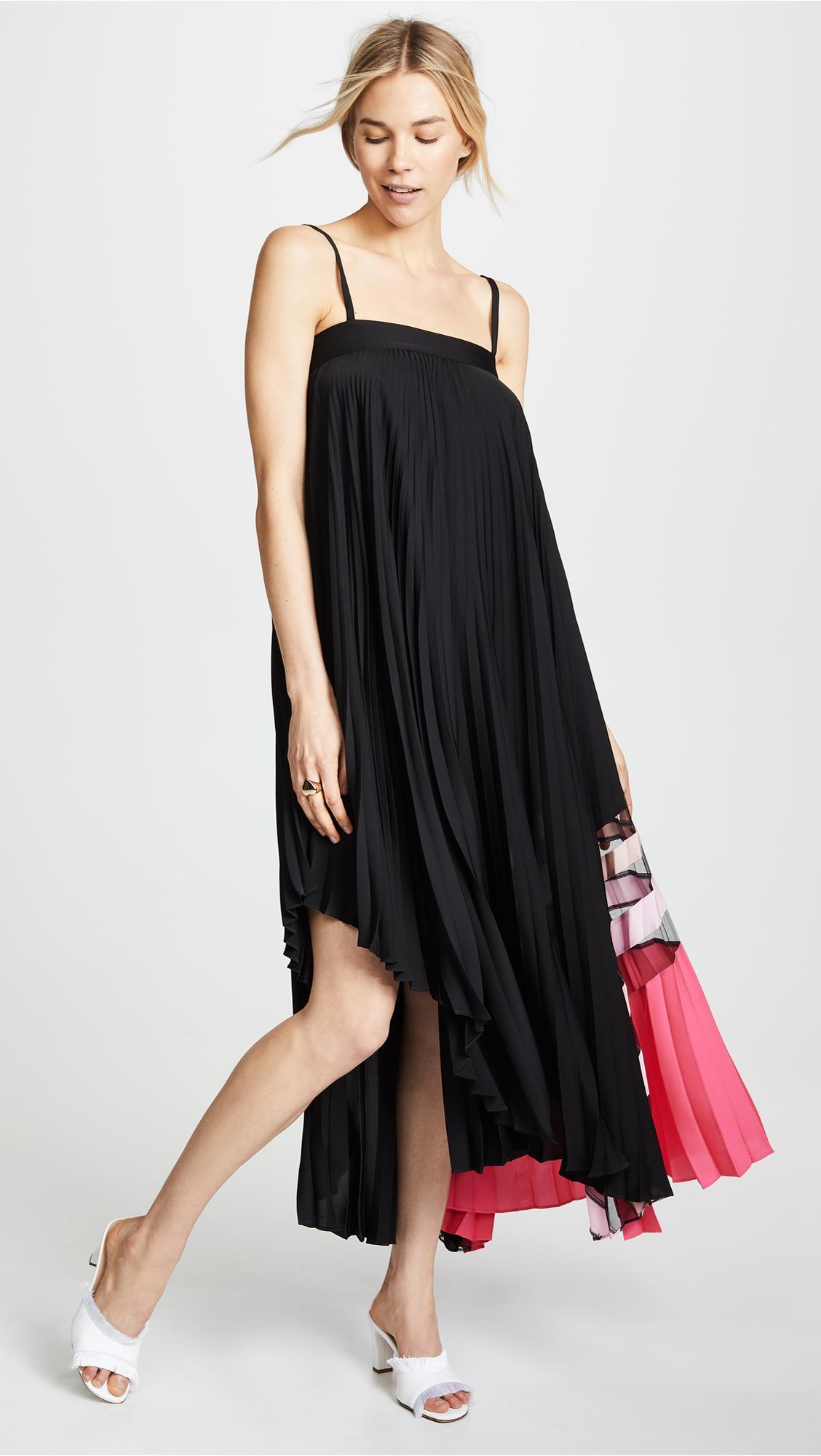 7699c7786ed7 Lyst - MILLY Irene Dress in Black