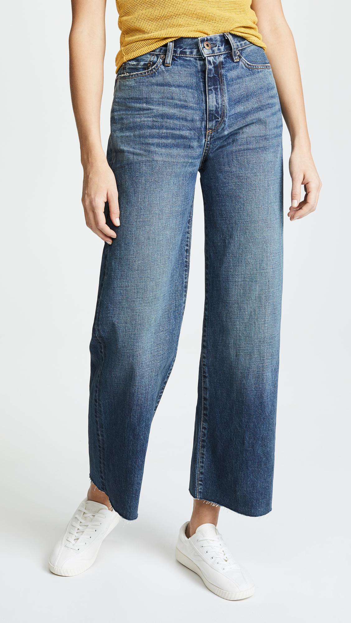 W006 Musa Mid-rise Wide-leg Jeans - Dark denim Simon Miller Shop Offer Cheap Online Low Shipping Cheap Online Buy Cheap 100% Original uivyTa