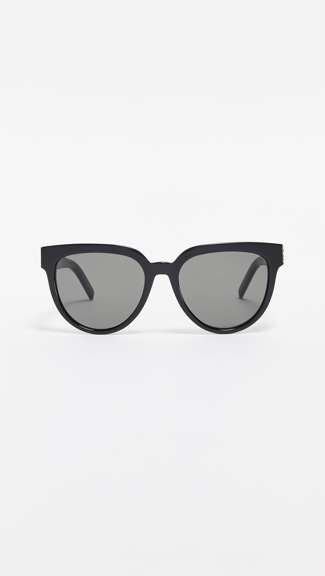 beee840a19 Saint Laurent. Women s Sl M28 Acetate Cat Eye Sunglasses
