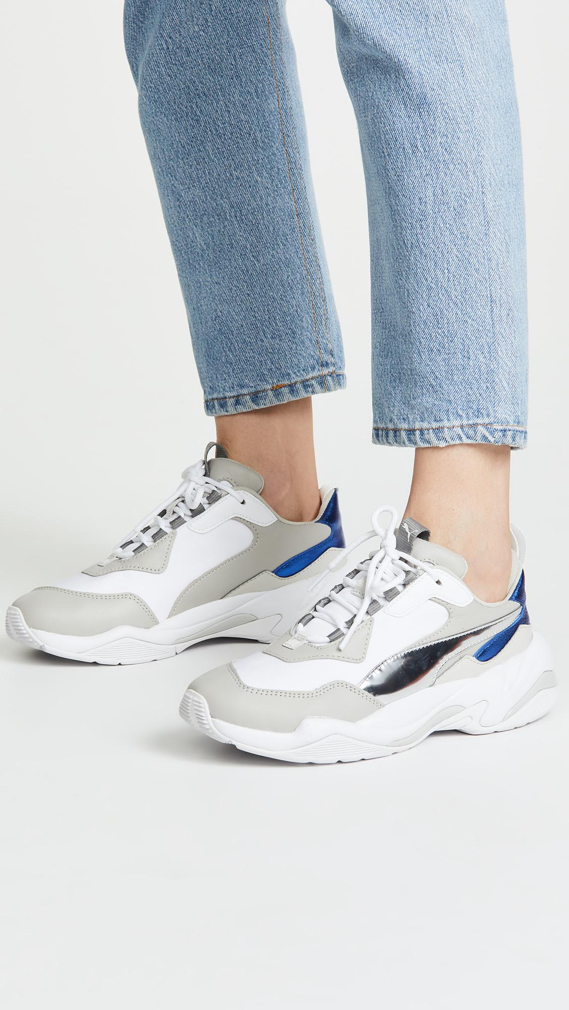 fd75a6ba0876 Lyst - PUMA Thunder Electric Sneakers in White