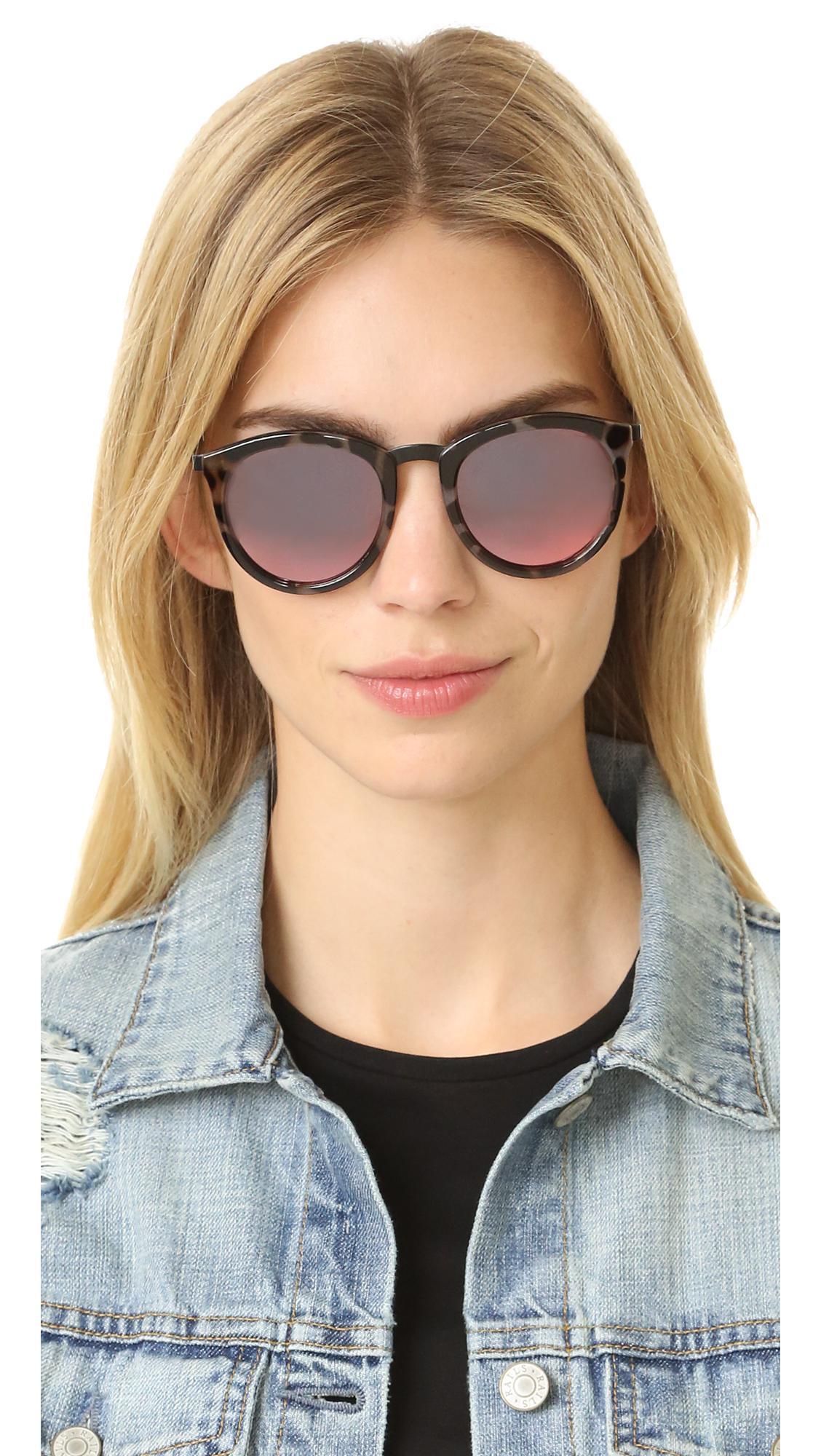 ee0b432218d Le Specs - Multicolor No Smirking Sunglasses - Lyst. View fullscreen