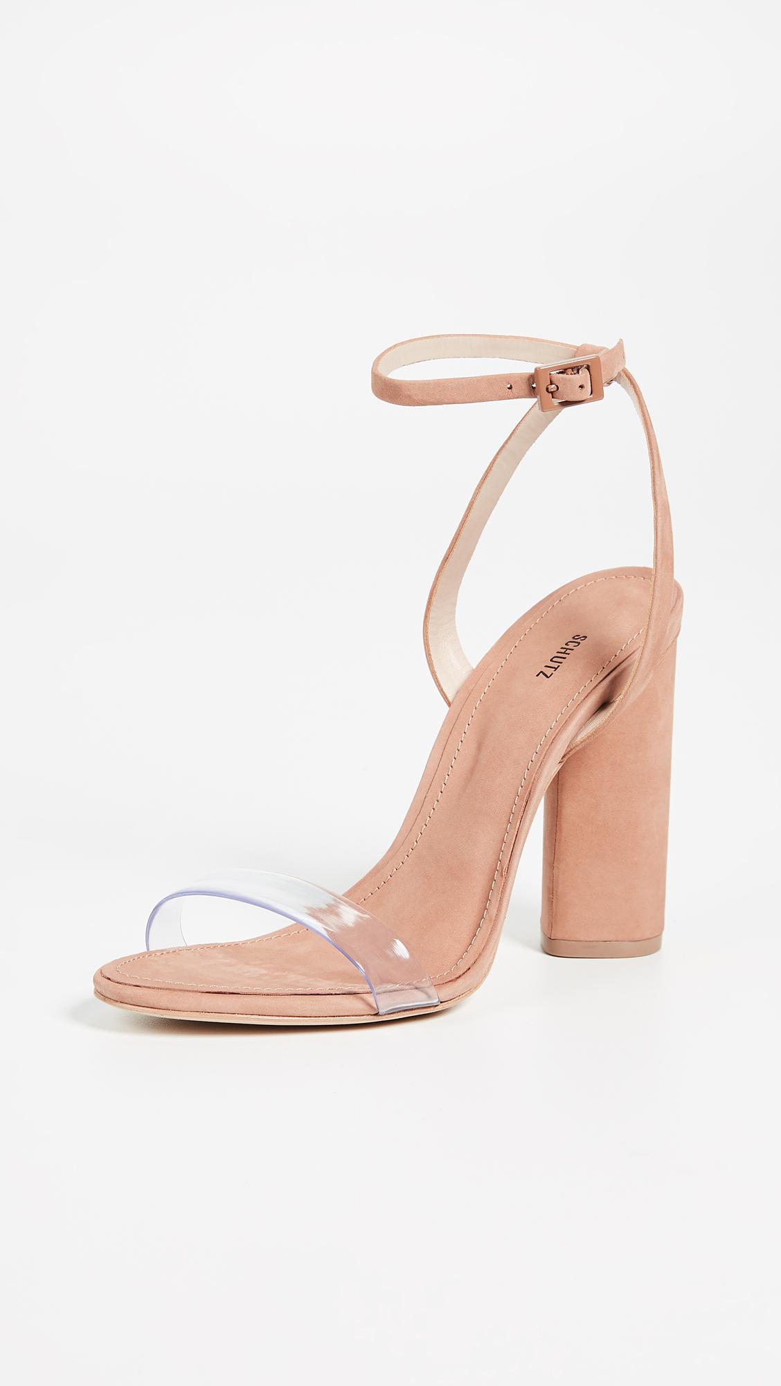 99c7d6dce234 Schutz. Women s Geisy Pvc Block Heel Sandals