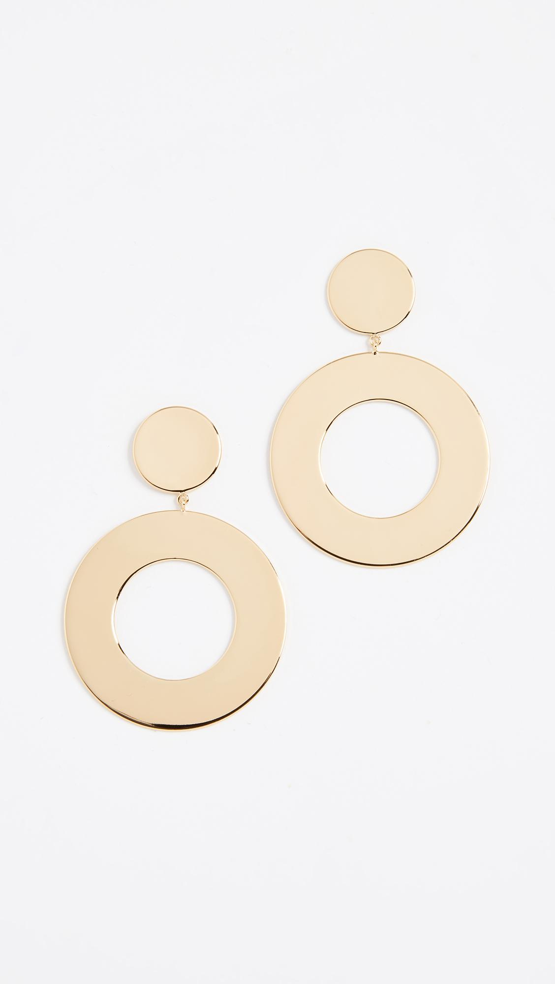 Gorjana Jagger Cutout Circle-Drop Earrings UBJGIMDq