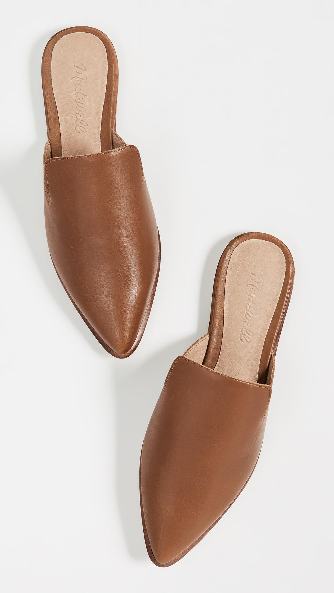 1d2cd1d4729 Madewell Gemma Pointy Toe Mule in Brown - Lyst