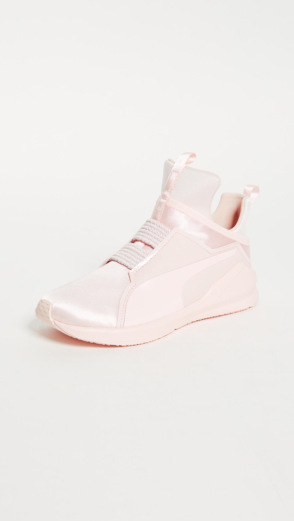 Puma Fierce Satin Ep Sneakers in Pink - Lyst 6cf9f92eb