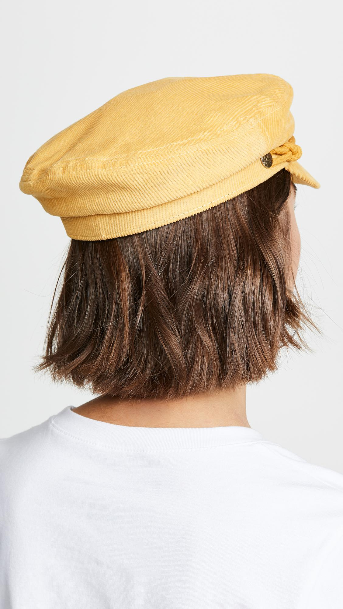 2b8a4087 Brixton Ashland Corduroy Newsboy Hat - Lyst