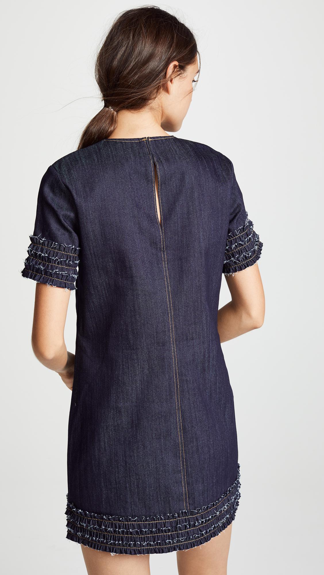 e6f0b2275e Cinq À Sept - Blue Ashton Dress - Lyst. View fullscreen