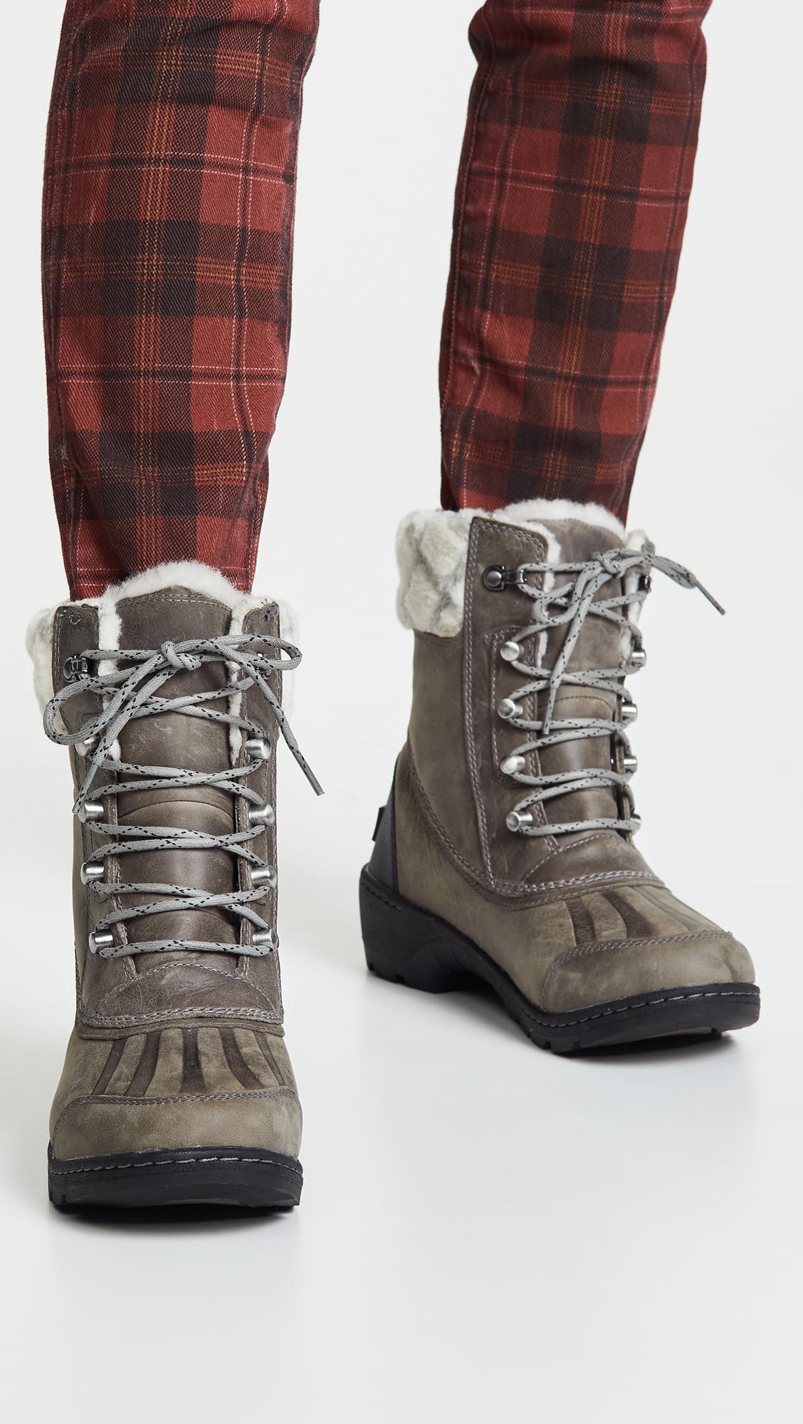 6ee8fe39e114 Sorel - Black Whistler Mid Boots - Lyst. View fullscreen
