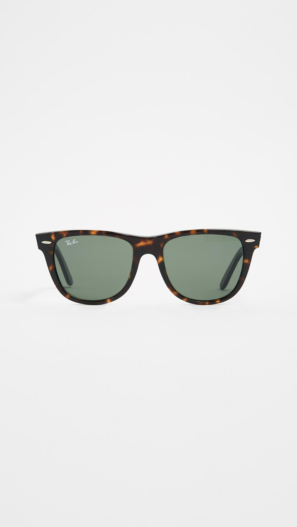 1f410b9ec9fb7 Ray-Ban Rb2140 Wayfarer Outsiders Oversized Sunglasses in Green - Lyst