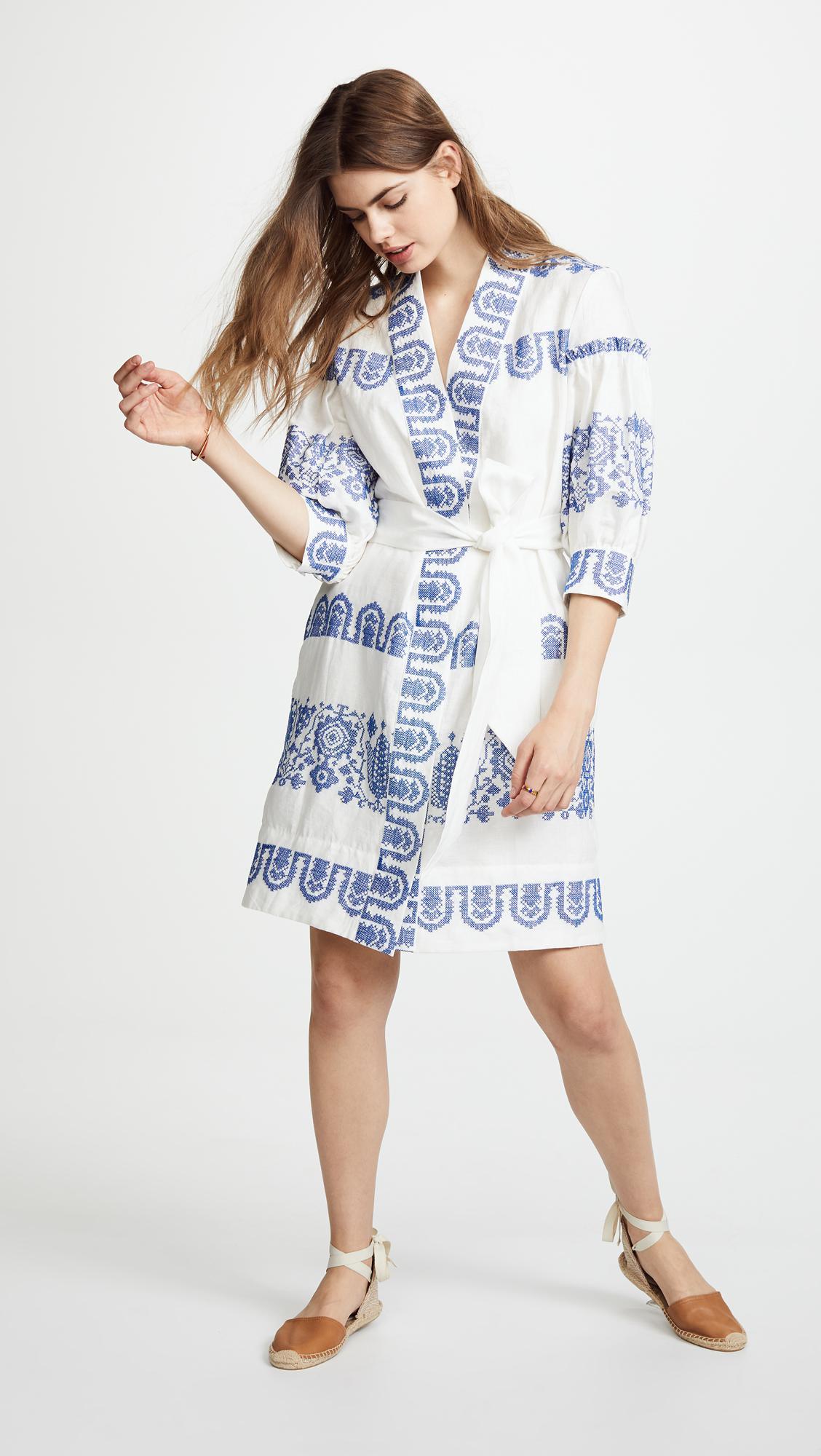 77ba131f66 Lyst - MILLY Agnes Dress in Blue