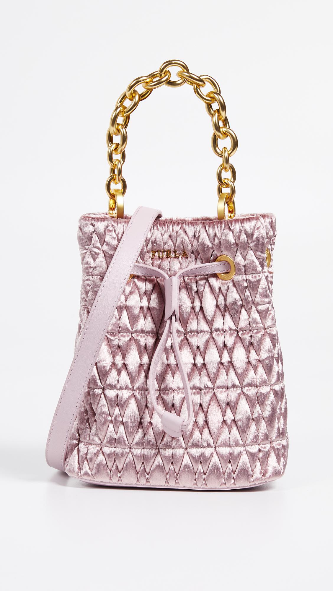 a922e547c613 Furla. Women s Stacy Cometa Mini Drawstring Bag