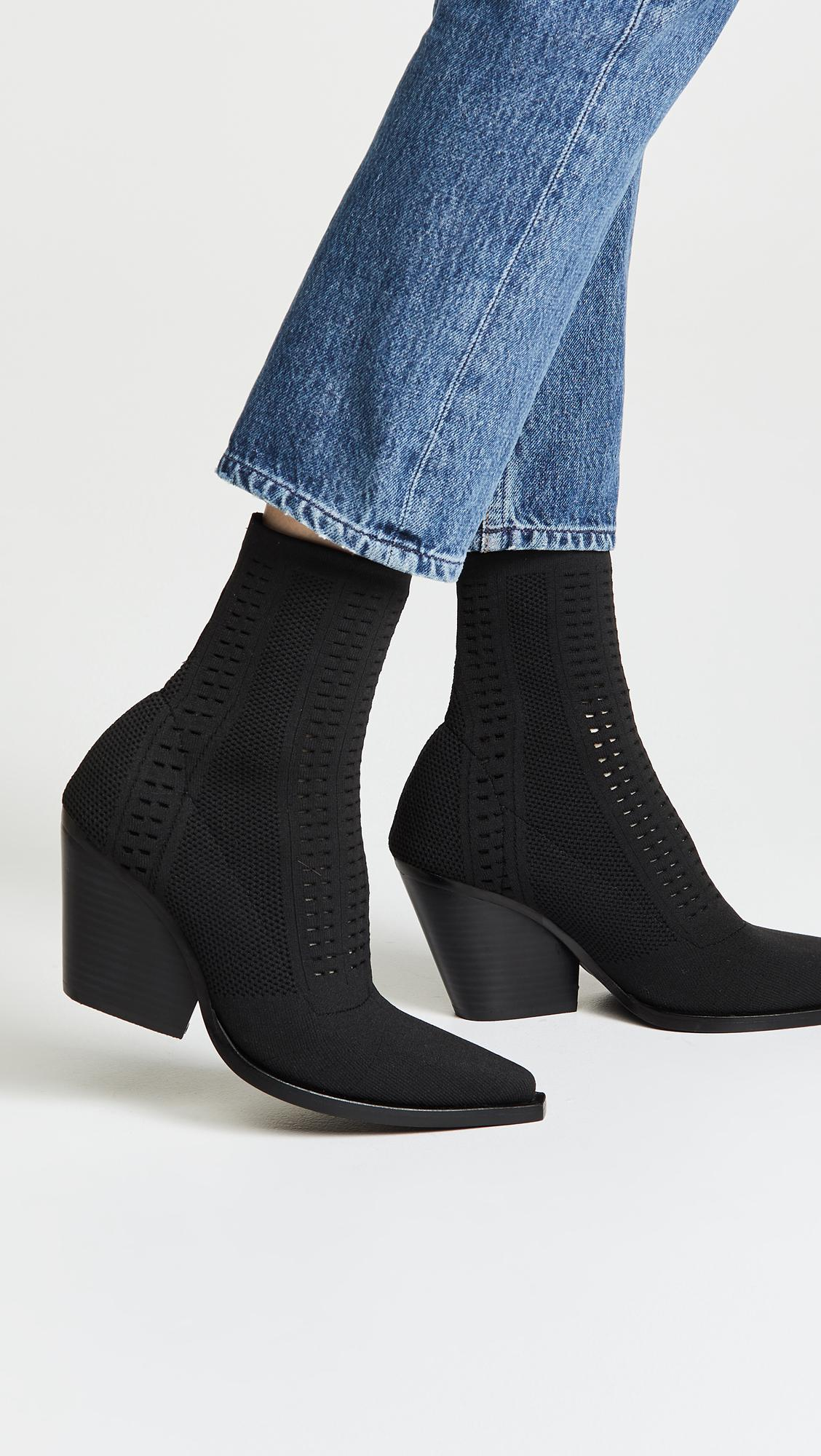 c1013b1ecf180 Lyst - Jeffrey Campbell Walton Point Toe Boots in Black