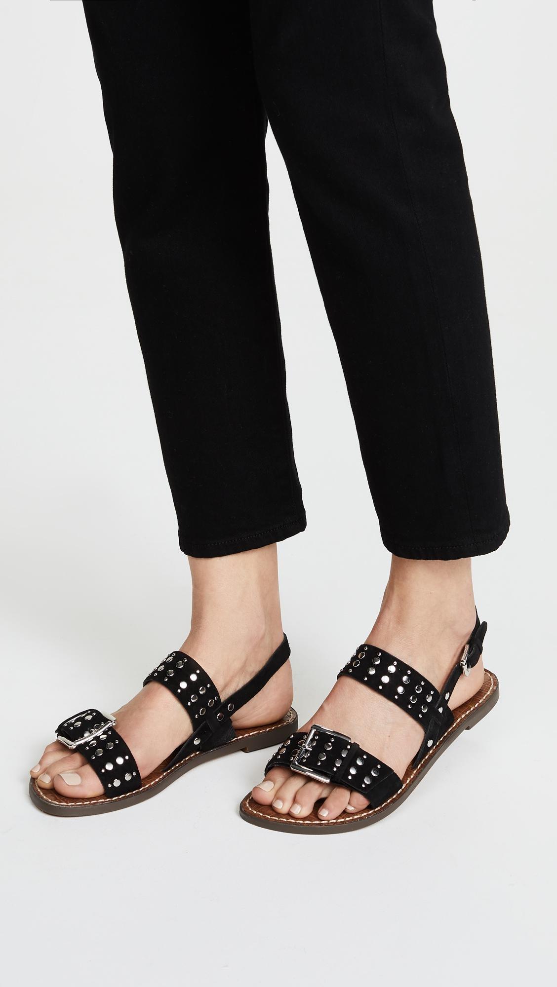 c3f2dde9f75df7 Lyst - Sam Edelman Glade Sandals in Black