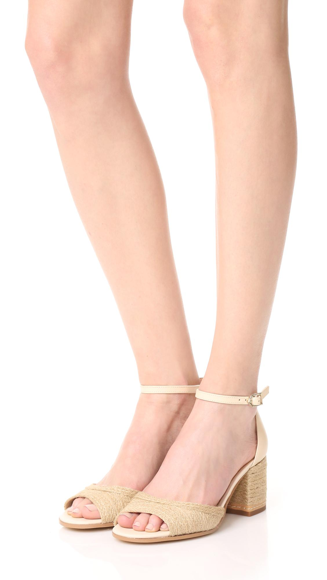 d0fa73b9d38cd5 Lyst - Sam Edelman Susie Ii City Sandals in Natural