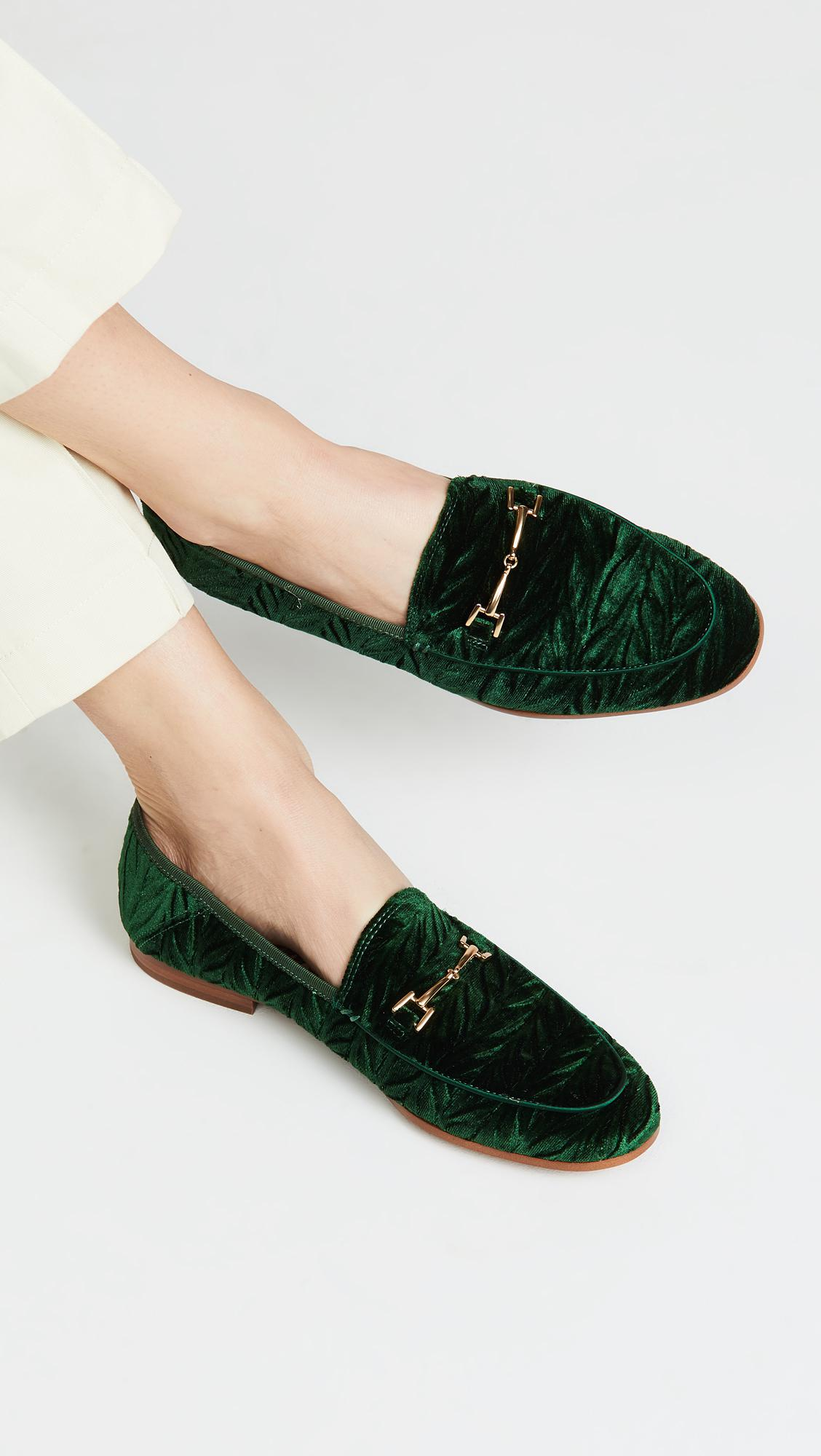 0a38d9427d17 Lyst - Sam Edelman Loraine Loafers in Green