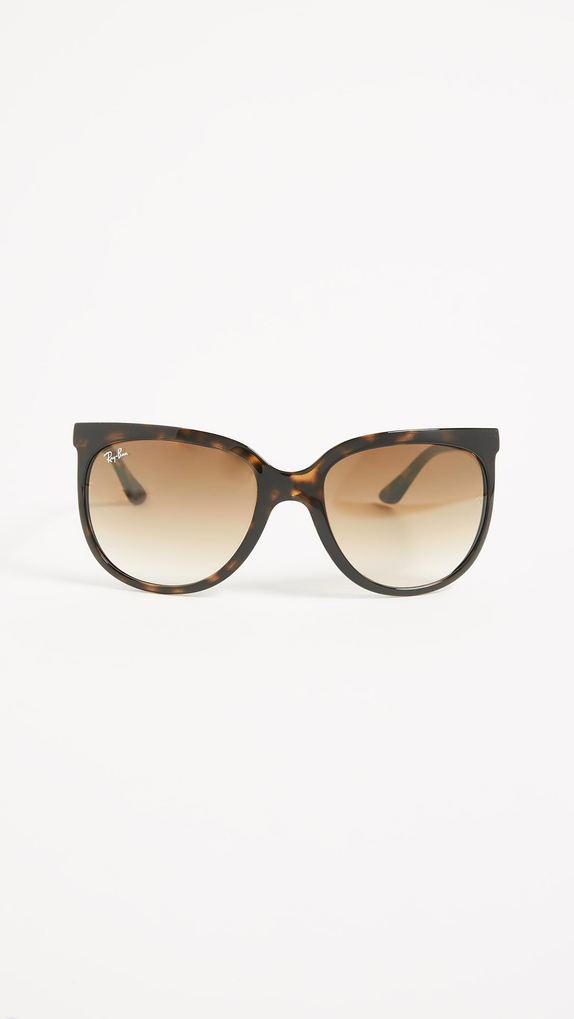 d78a705173 Lyst - Ray-Ban Rb4126 Cats 1000 Sunglasses in Brown - Save 14%