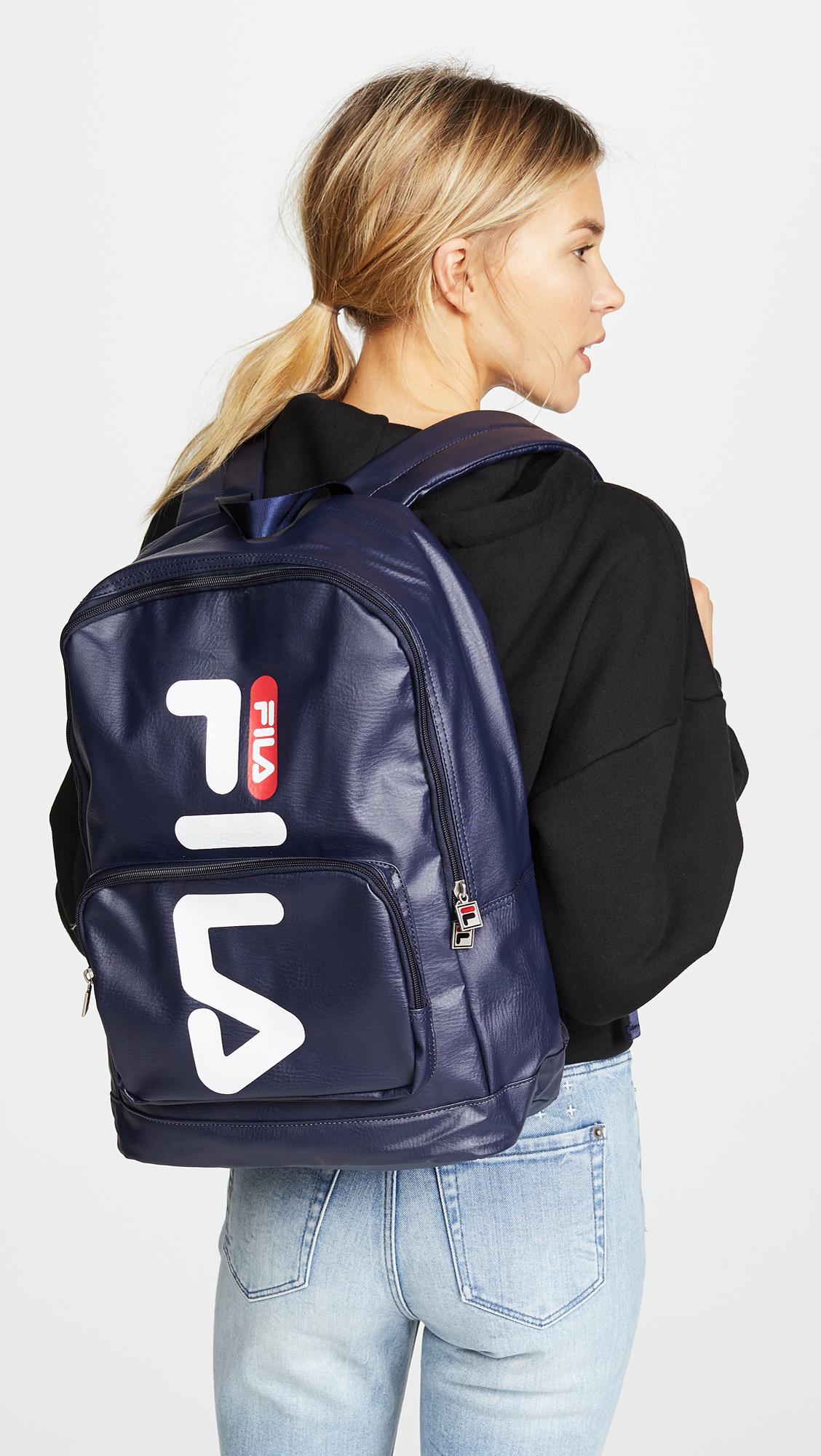 cf03617873 Lyst - Fila Riley Backpack in Blue