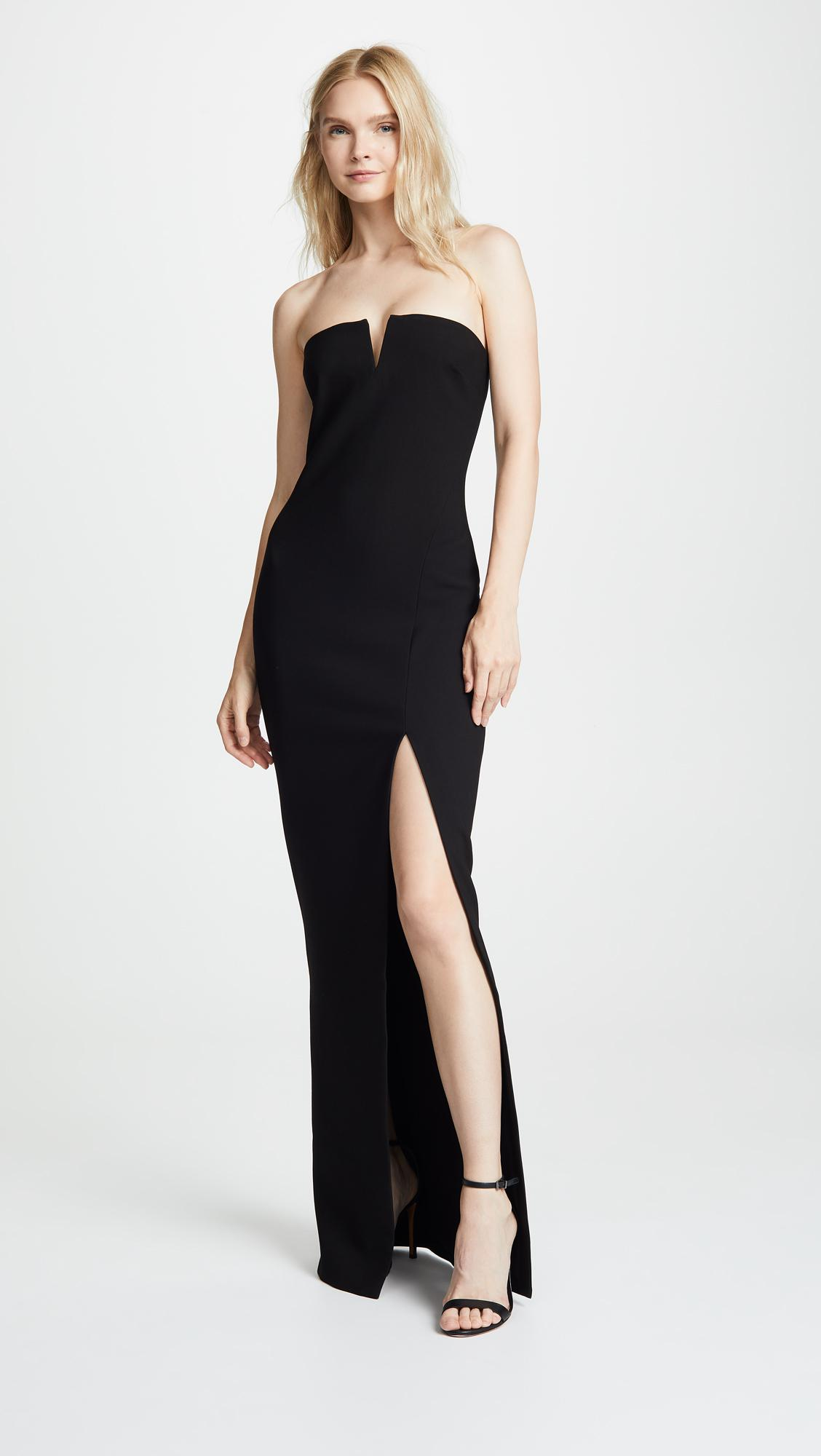 Lyst - Likely Windsor Gown in Black